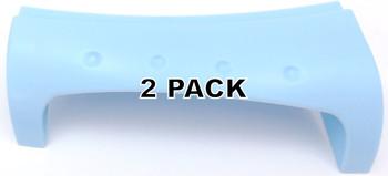2 Pk, Washer Door Handle, Blue for Whirlpool, Sears, AP3128742, 8181877