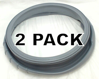 2 Pk, Front Load Washer Boot,  for Samsung, AP4205725, PS4210920, DC64-00802A