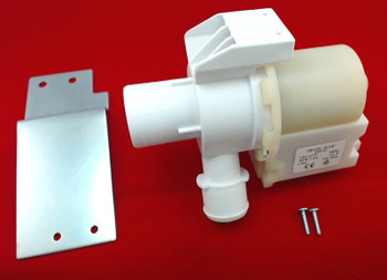 2 Pk, Washer Drain Pump & Motor for General Electric AP5803461, WH23X10030