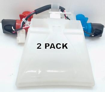 2 Pk, Washing Machine Water Valve for Whirlpool, AP4371093, W10144820