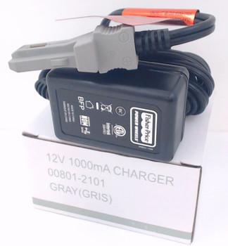 2 Pk, Power Wheels Grey 12V Grey Battery Charger, 00801-1778, 00801-2101