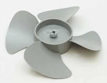 """Supco Plastic Fan 4 Blade, 5 1/2"""" Diameter, 3/16"""" Shaft, AP4502802, FB550"""
