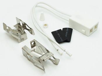 4 Pk, Top Burner Ceramic Receptacle Kit for Whirlpool, AP3075808 PS340571 330031