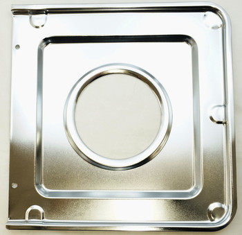Chrome Square Gas Range Drip Pan for GE, AP2028207, PS244863, WB32X90