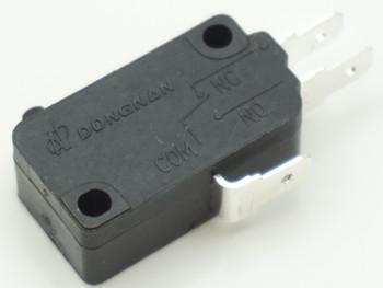 """Supco Microwave Universal Door Switch, 3 Wire, 3/16"""" Terminals, 21 Amp 28QBP0491"""