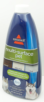 Bissell Crosswave Multi Surface Pet Floor Cleaning Formula & Pet Brush Roll