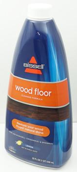 Bissell 32oz Wood Floor Cleaning Formula, Lemon, Pet & Family Safe, 1929