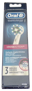 Oral-B Professional Cross Action Replacement Brush Heads, 3 Pk, EB50-3