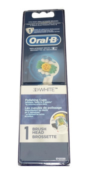 Oral-B 3D White Single Replacement Brush Head, 80215553, EB18-1