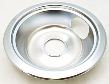 "Deep Bowl Drip Bowl 4 Pk for General Electric (3) 6"" WB31X5010, (1) 8"" WB31X5011"