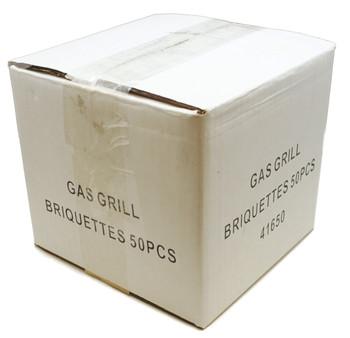 Gas Grill 50 pieces Ceramic Briquette Set for Lynx, 41650