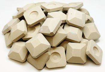 Gas Grill 48 pieces Ceramic Briquette Set for Lynx, 41648