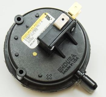 Pellet Stove Vacuum Shutdown Pressure Switch, PSCUVS
