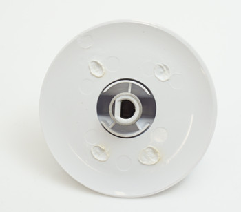 Supco Dryer Timer Knob, White, for General Electric, WE01X20374, DE20374