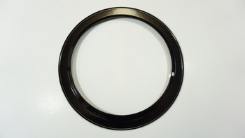 "Range Black Porcelain 6"" Trim Ring for GE and Hotpoint, 421-6"