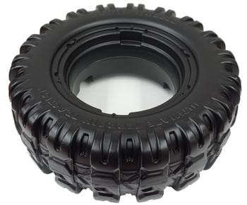 Power Wheels Jeep Hurricane, 4 pk Front or Rear tires, J4394-Q803-01, J4394-2529