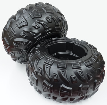 Power Wheels, Kawasaki Brute Force, 2 pack Rear Wheel, J5248-Q802-02, J5248-2359