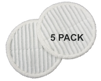 Bissell Scrubby Mop Pads, 5 Pack, 10 Pieces, for Spinwave Hard Floor, 1611298