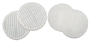 Bissell Spinwave Soft & Scrubby Mop Pad Kit 2 of each, 1611298, 1611297, BIS9897