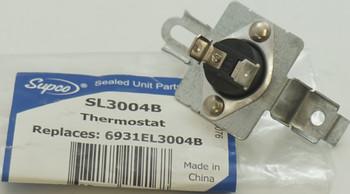 Supco Burner Tube Hi Limit Thermostat for LG Dryer, 6931EL3004B, SL3004B