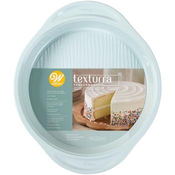 Wilton Texturra Performance Non-Stick Bakeware 9 Inch Round Pan, 2105-0-0039