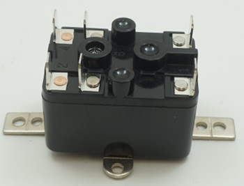 Packard SPNO-SPNC Switching Fan Relay, 24 Coil Voltage, 18 Resistive Amps, PR380