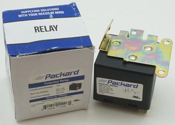 Packard Potential Relay, 170 Voltage, 140-153 pick up, 65 drop off, PR9063