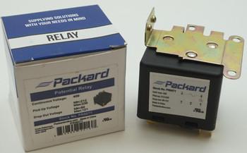 Packard Potential Relay, 420 Voltage, 212-235 pick up, 60-121 drop off, PR9071
