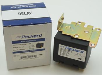 Packard Potential Relay, 495 Voltage, 323-352 pick up, 135 drop off, PR9068