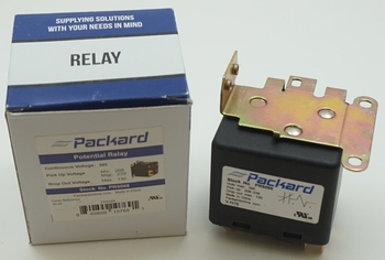 Packard Potential Relay, 395 Voltage, 208-239 pick up, 130 drop off, PR9066