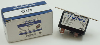 Packard SPST-NO Switching Fan Relay, 24 Coil Voltage, 16 Resistive Amps, PR290Q
