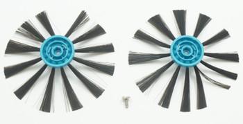 Bissell EV675 Multi Surface Robotic Vacuum Edge Brushes and Screws, 2Pk, 1618522