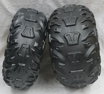 Power Wheels, Kawasaki Brute Force, Front and Back Tires, One of Each, J5248FB