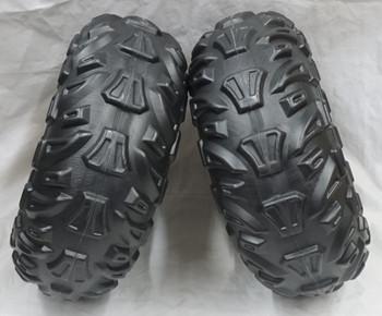 2 PK Power Wheels, Kawasaki Brute Force, Front Wheels, J5248-Q801, J5248-2369
