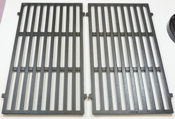"""Gas Grill Cast Iron Cooking Grid for Weber, Set of 2, 17 7/16"""" x 20 1/2"""", 63832"""