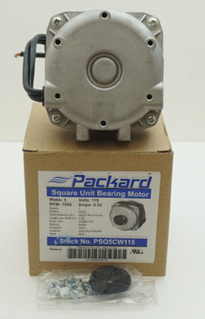 Packard 5 Watt, 115 Volt Square Unit Bearing Motor, PSQ5CW115