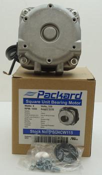 Packard 4 Watt, 115 Volt Square Unit Bearing Motor, PSQ4CW115