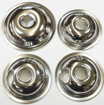 """Stove Restoration Kit, Surface Elements, Receptacles, and Drip Pans, 3-6"""" & 1-8"""""""