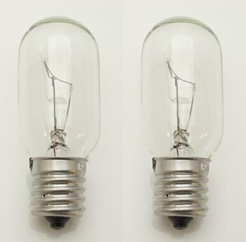 2 Pk, Microwave Exterior Light Bulb 125V for Whirlpool, AP4512653, 8206232A