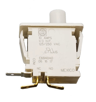 2 Pk, Universal Dryer Door Switch, W10169313, 512973, 16806