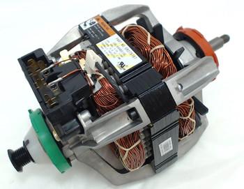 2 Pk, Dryer Motor & Pulley for Whirlpool, Sears, Kenmore, AP3094233, 279787