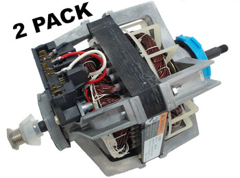 2 Pk, Dryer Motor & Pulley for Whirlpool Sears, AP3094245, PS334304, 279827