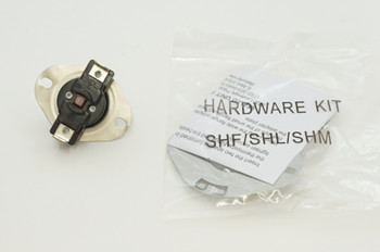 Furnace Thermostat With Manual Reset, 130°F Cutout Temperature, SHM130