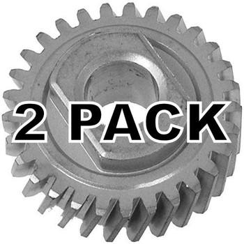 2 Pk, KitchenAid Stand Mixer Worm Follower Gear, WP9706529, W11086780
