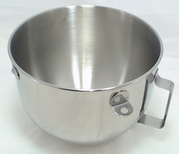 KitchenAid Mixer 5 QT S.S. Bowl w/handle KN25PBH, 9707678, W10716820