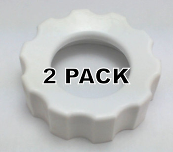 2 Pk, Stand Mixer Food Grinder Screw on Cap for KitchenAid AP4325363, WP115422