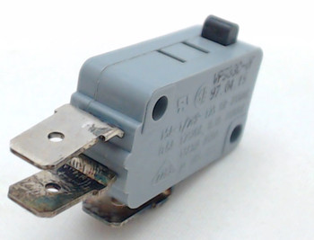 """Microwave Universal Door Switch, 3 Wire, 1/4"""" Male Terminals, 15 Amp, 28QBP0496"""