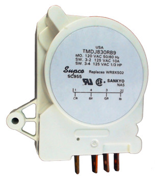 Refrigerator Defrost Timer for General Electric, AP2061708, PS310869, WR9X502