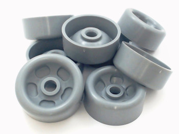 Dishwasher Lower Rack Roller & Axle Kit for GE, AP5986366, WD35X21041