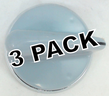 3 Pk, Washer/Dryer Knob for General Electric, AP4485269, PS2370714, WH01X10462